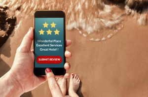 Guest satisfaction: Giving feedback using mobile