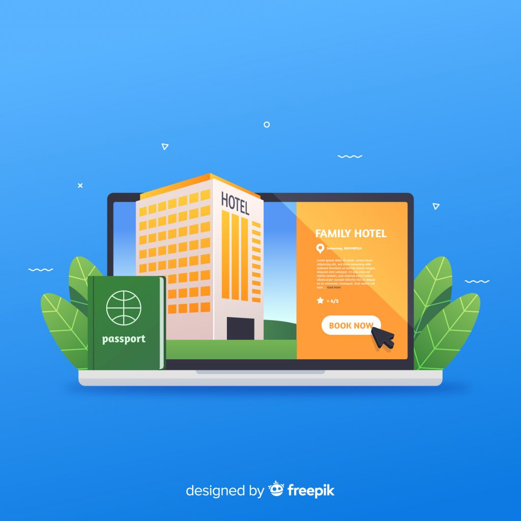 Vital Features When You Redesign Your Hotel Website Hotel Booking Website on Desktop Screen