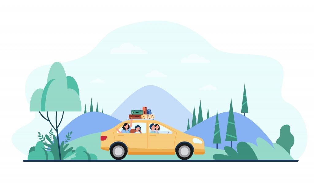 7 Must-Know Car Rental Tips for First-Time Travelers Family in Rented Car